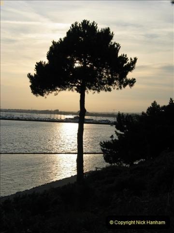 2005 July. Sunset 1. Poole Harbour, Dorset. (2)096
