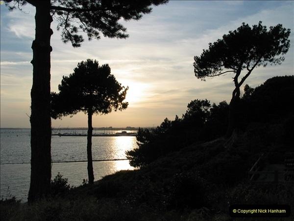 2005 July. Sunset 1. Poole Harbour, Dorset. (5)099
