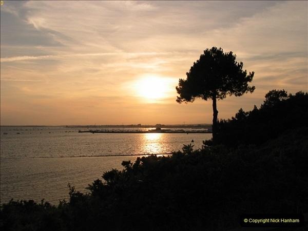 2005 July. Sunset 1. Poole Harbour, Dorset. (6)100