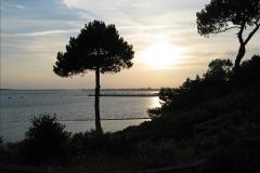 2005 July. Sunset 1. Poole Harbour, Dorset. (3)097