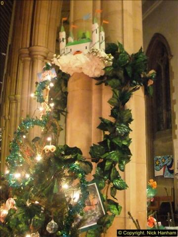 2014-12-19 St. Aldhelm's Xmas Tree Festival. Branksome, Poole, Dorset (30)