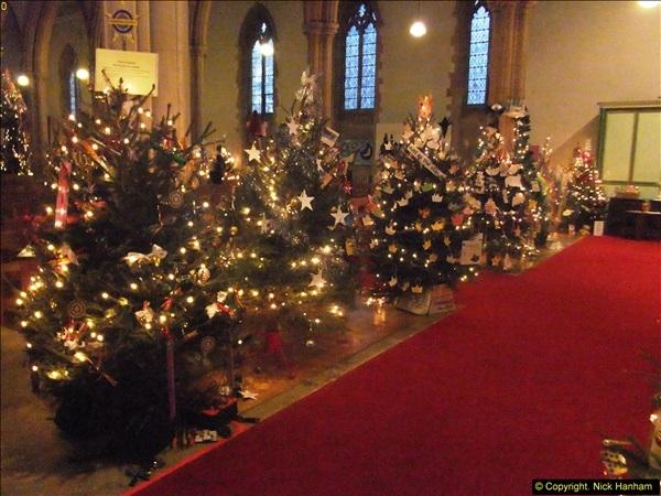 2014-12-19 St. Aldhelm's Xmas Tree Festival. Branksome, Poole, Dorset (4)