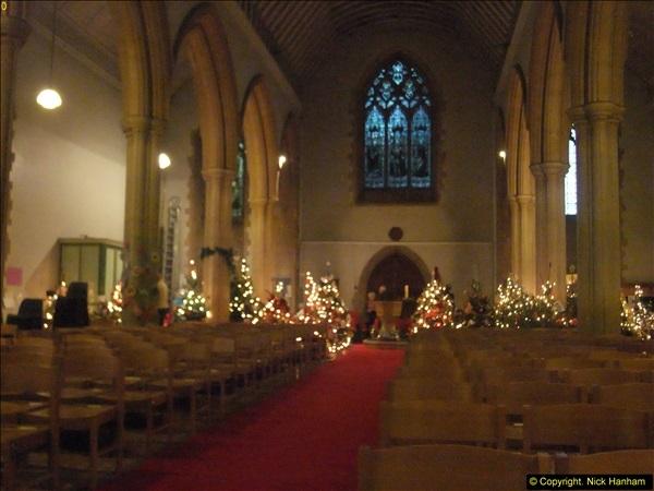 2014-12-19 St. Aldhelm's Xmas Tree Festival. Branksome, Poole, Dorset (5)