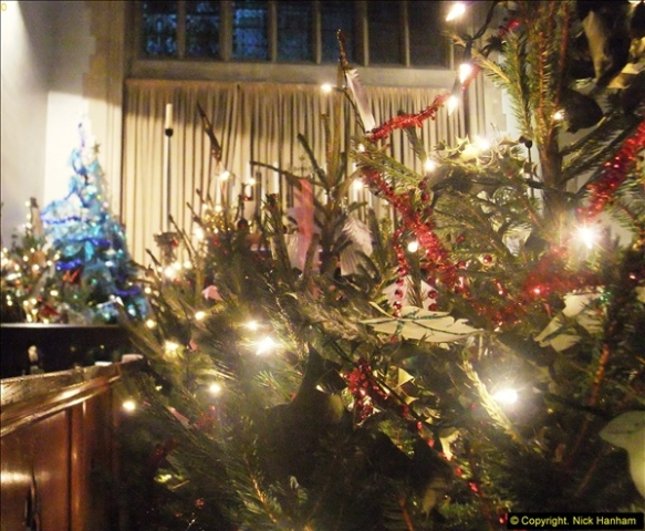 2014-12-19 St. Aldhelm's Xmas Tree Festival. Branksome, Poole, Dorset (8)