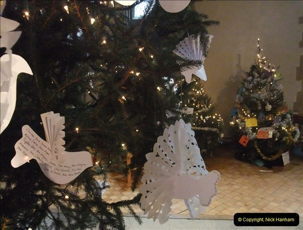 2012-12-21 (26) St.  Aldhelm's Church  Xmas Trees Display,  Branksome, Poole, Dorset.