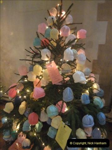 2012-12-21 (31) St.  Aldhelm's Church  Xmas Trees Display,  Branksome, Poole, Dorset.