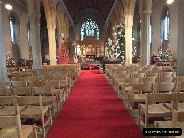 2012-12-21 (36) St.  Aldhelm's Church  Xmas Trees Display,  Branksome, Poole, Dorset.