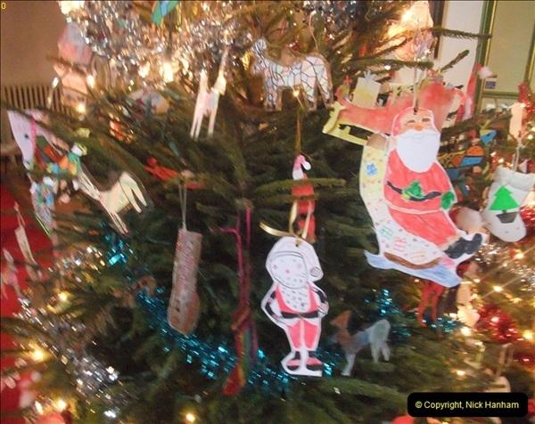 2012-12-21 (39) St.  Aldhelm's Church  Xmas Trees Display,  Branksome, Poole, Dorset.