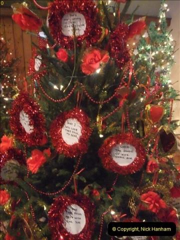 2012-12-21 (4) St.  Aldhelm's Church  Xmas Trees Display,  Branksome, Poole, Dorset.