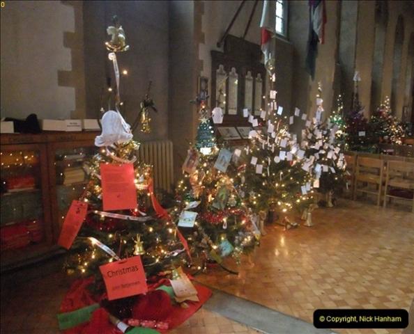 2012-12-21 (40) St.  Aldhelm's Church  Xmas Trees Display,  Branksome, Poole, Dorset.