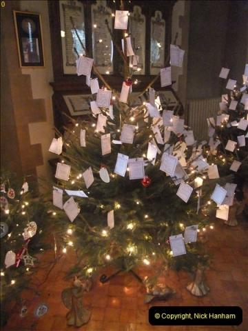 2012-12-21 (9) St.  Aldhelm's Church  Xmas Trees Display,  Branksome, Poole, Dorset.