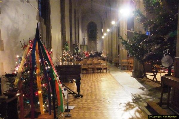 2013-12-19 St. Aldhelm's Church, Christmas Trees, Branksome, Poole, Dorset.  (10)