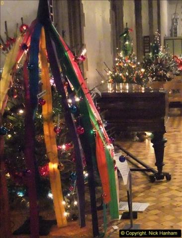 2013-12-19 St. Aldhelm's Church, Christmas Trees, Branksome, Poole, Dorset.  (11)