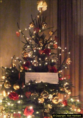 2013-12-19 St. Aldhelm's Church, Christmas Trees, Branksome, Poole, Dorset.  (15)