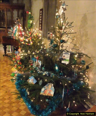 2013-12-19 St. Aldhelm's Church, Christmas Trees, Branksome, Poole, Dorset.  (18)