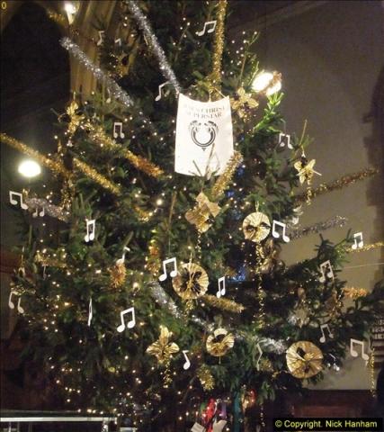 2013-12-19 St. Aldhelm's Church, Christmas Trees, Branksome, Poole, Dorset.  (2)