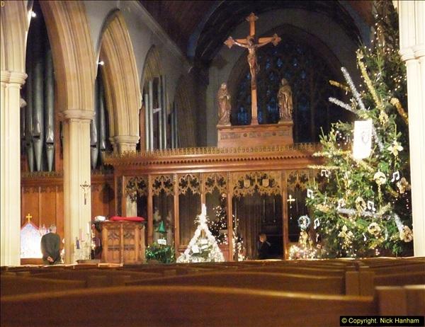 2013-12-19 St. Aldhelm's Church, Christmas Trees, Branksome, Poole, Dorset.  (21)
