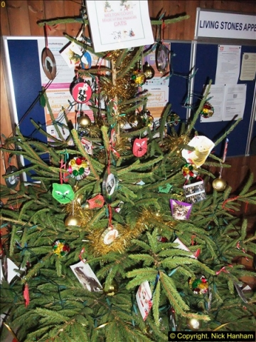 2013-12-19 St. Aldhelm's Church, Christmas Trees, Branksome, Poole, Dorset.  (22)