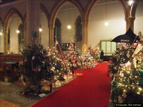 2013-12-19 St. Aldhelm's Church, Christmas Trees, Branksome, Poole, Dorset.  (24)