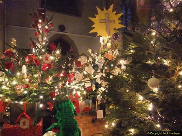2013-12-19 St. Aldhelm's Church, Christmas Trees, Branksome, Poole, Dorset.  (25)