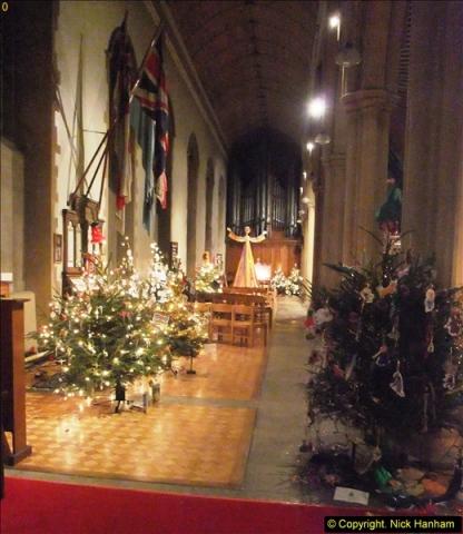 2013-12-19 St. Aldhelm's Church, Christmas Trees, Branksome, Poole, Dorset.  (32)