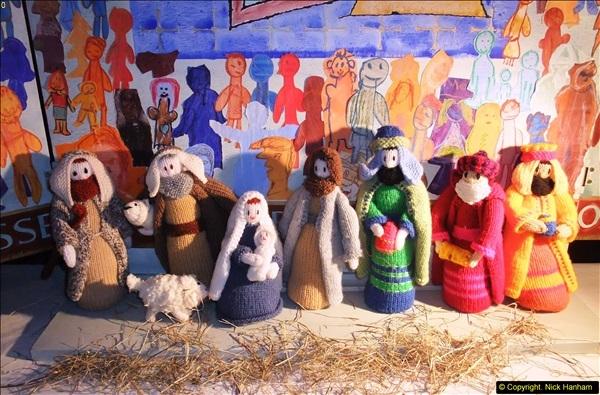 2013-12-19 St. Aldhelm's Church, Christmas Trees, Branksome, Poole, Dorset.  (5)