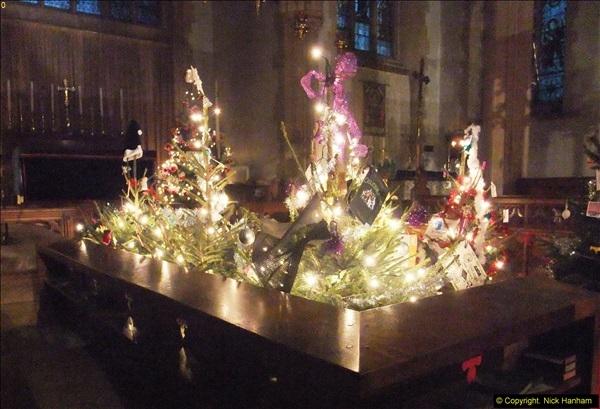 2013-12-19 St. Aldhelm's Church, Christmas Trees, Branksome, Poole, Dorset.  (6)