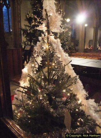 2013-12-19 St. Aldhelm's Church, Christmas Trees, Branksome, Poole, Dorset.  (7)
