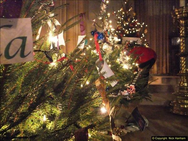 2013-12-19 St. Aldhelm's Church, Christmas Trees, Branksome, Poole, Dorset.  (8)