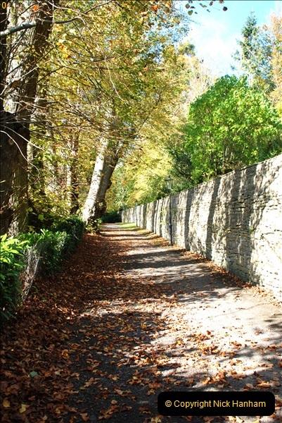 2018-10-21 Dyrham Park (NT) Autumn Colour. Near Bath, Somerset.  (33)033