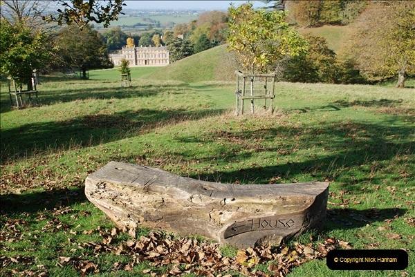 2018-10-21 Dyrham Park (NT) Autumn Colour. Near Bath, Somerset.  (61)061