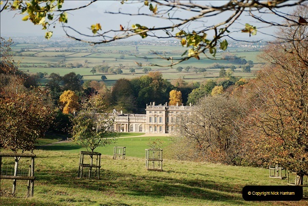 2018-10-21 Dyrham Park (NT) Autumn Colour. Near Bath, Somerset.  (62)062
