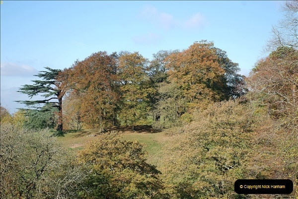 2018-10-21 Dyrham Park (NT) Autumn Colour. Near Bath, Somerset.  (1)001