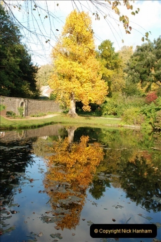 2018-10-21 Dyrham Park (NT) Autumn Colour. Near Bath, Somerset.  (20)020