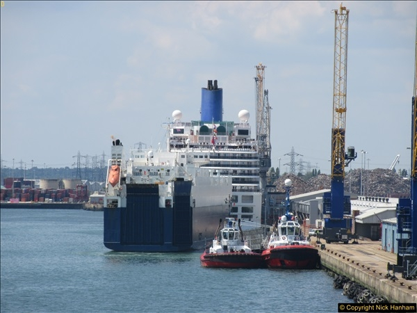 2017-06-18 & 19 Poole - Southampton - North Sea.  (44)044