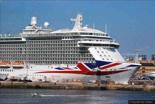 2017-06-18 & 19 Poole - Southampton - North Sea.  (61)061