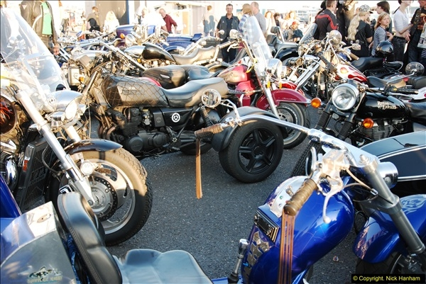 2014-09-02 Biker's Night on Poole Quay.  (111)111