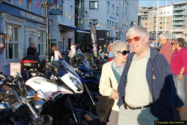2014-09-02 Biker's Night on Poole Quay.  (43)043