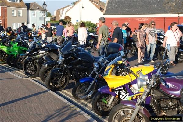 2016-08-16 Biker's Night on Poole Quay, Poole, Dorset August 2016.  (95)095