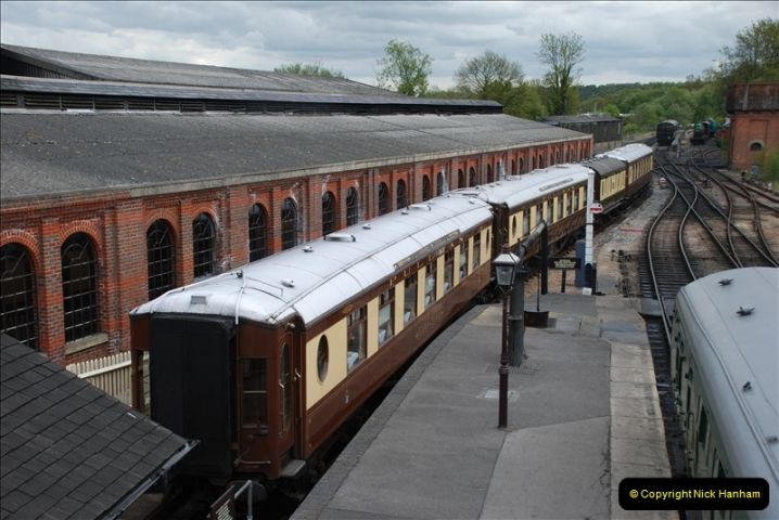 2010-05-10 The Bluebell Railway.  (43)001
