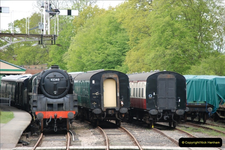 2010-05-10 The Bluebell Railway.  (80)001