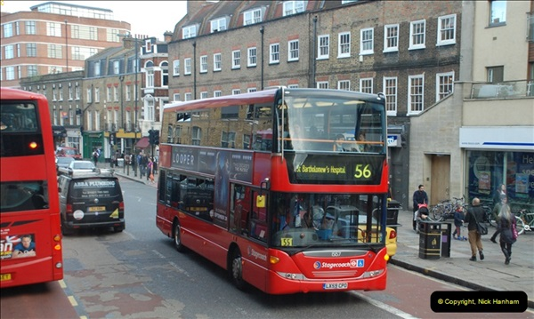 2012-10-07 Ride on LT12 GHT Borismaster. Route 38 Victoria to Hackney Central.  (60)65