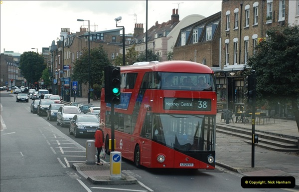 2012-10-07 Ride on LT12 GHT Borismaster. Route 38 Victoria to Hackney Central.  (75)80