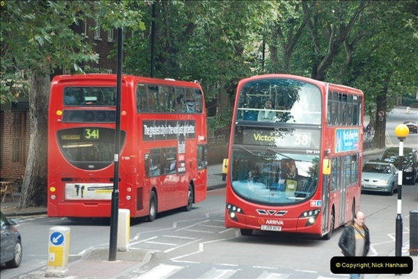 2012-10-07 Ride on LT12 GHT Borismaster. Route 38 Victoria to Hackney Central.  (55)60