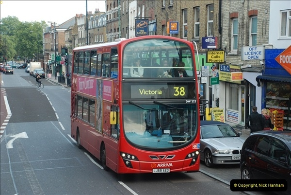 2012-10-07 Ride on LT12 GHT Borismaster. Route 38 Victoria to Hackney Central.  (63)68
