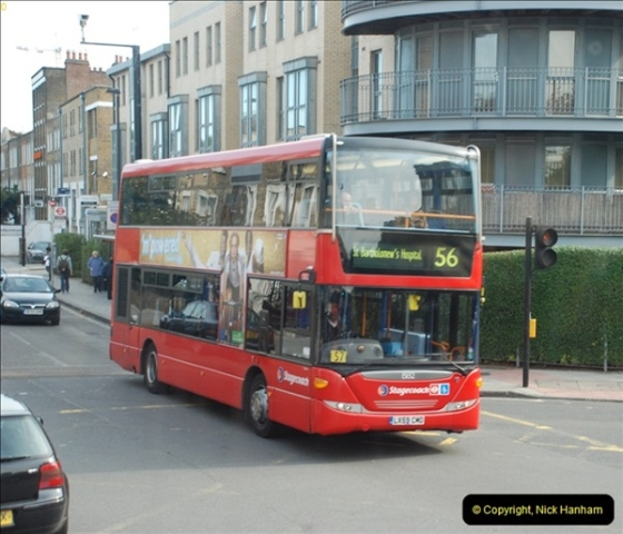2012-10-07 Ride on LT12 GHT Borismaster. Route 38 Victoria to Hackney Central.  (68)73