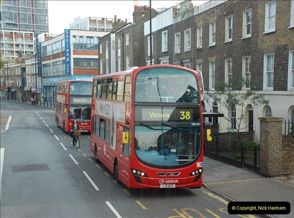2012-10-07 Ride on LT12 GHT Borismaster. Route 38 Victoria to Hackney Central.  (69)74