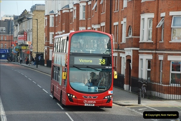2012-10-07 Ride on LT12 GHT Borismaster. Route 38 Victoria to Hackney Central.  (72)77