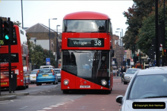 2012-10-07 Ride on LT12 GHT Borismaster. Route 38 Victoria to Hackney Central.  (76)81