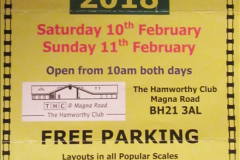 Bournemouth Model Rail Exhibition 11 February 2018